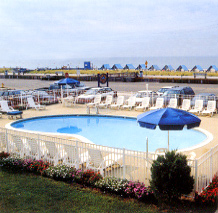 Cape May Colton Court Motel swimming pool